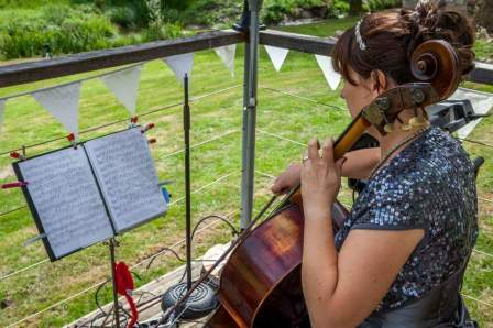 Samantha Bramley at Domaine de Grolhier by Neil Cooling Photography