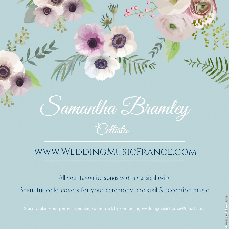 Samantha Bramley – Wedding Ceremony Music In France